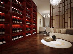 简易新中式客厅家具