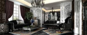 欧式奢华现代客厅家具