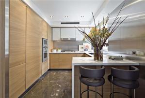 现代厨房整体橱柜