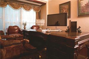 美式书桌写字台