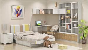儿童房家具效果图
