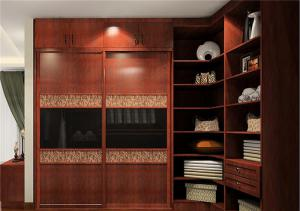 现代卧室整体衣柜