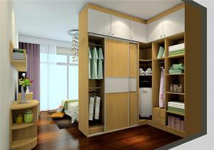 新古典现代简约整体衣柜