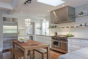 不锈钢厨房橱柜作品