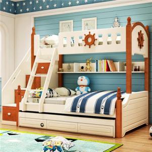 男生儿童家具上下床