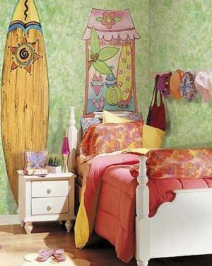创意女孩儿童房家具