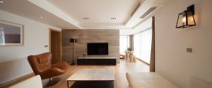 客厅电视墙装饰图片素材高
