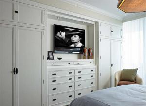 实木卧室装饰柜