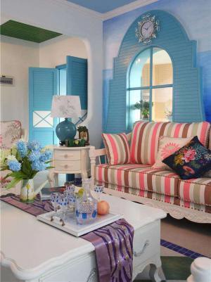 新款沙发装饰