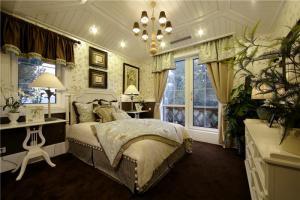 卧室双人床欧式整体家具