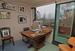 创意弧形美式书桌