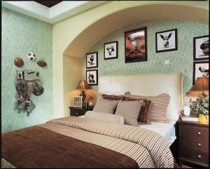 卧室双人床图片分享
