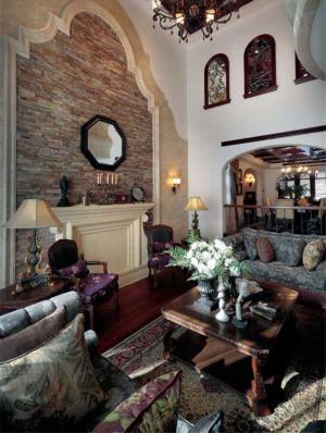 新古典美式客厅家具
