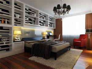 现代卧室装饰柜