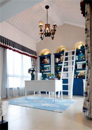 地中海风格创意书桌