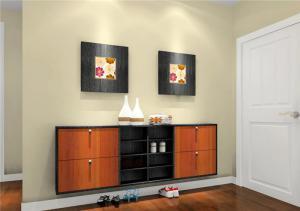 公寓客厅鞋柜