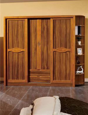 家居新中式衣柜