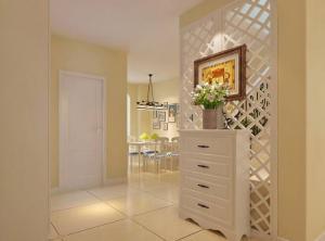 家装客厅隔断柜设计