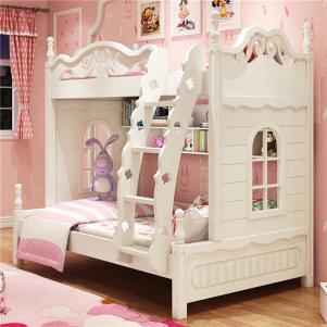 韩式组合儿童家具上下床实