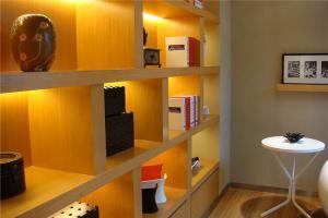 现代简约书房装修效果图书