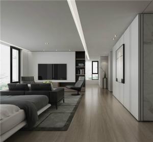 公寓一居室好看的客厅背景