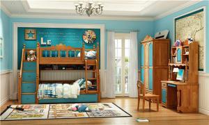 卧室套装家具上下床带衣柜