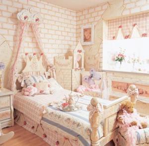 儿童房吊顶效果图家具用品