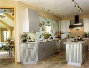 厨房间橱柜怎样设计图
