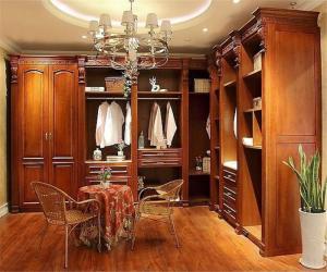 新古典卧室整体衣柜