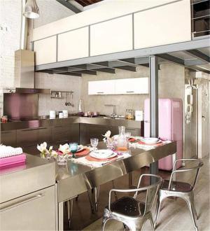 美式厨房吧台