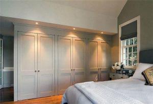 欧式奢华卧室衣柜