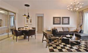 小户型客厅沙发样板间