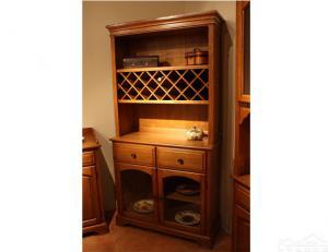 实木小酒柜定做