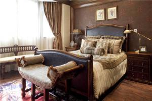 公寓简欧卧室装修图片