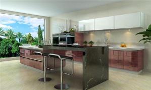家用不锈钢厨房橱柜