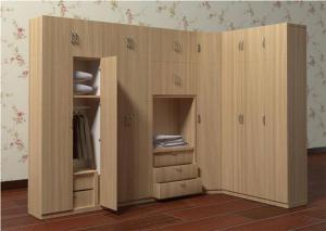 实木平开门衣柜