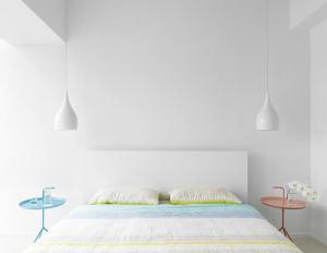 小美式风格小清新床头
