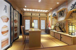 日式书房装饰效果图