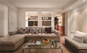 家装现代客厅茶几