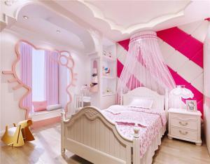 小卧室床儿童女孩装饰