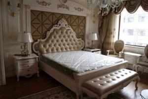 欧式床实拍图欣赏