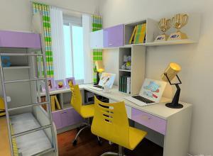 维意设计作品小孩书房装修