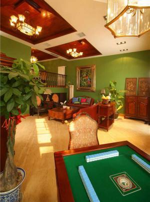美式客厅家具样板间