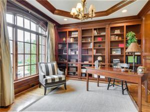 轻奢古典书房装修效果图