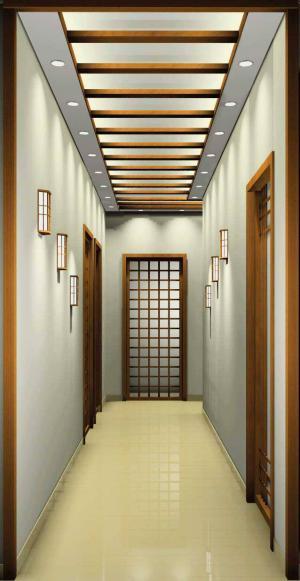 日式装修走廊