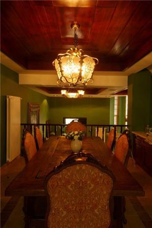 美式实木客厅家具图片