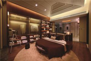圆形床卧室效果图图册