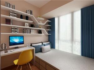 三居室小书房装修效果图