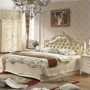 橡木欧式床