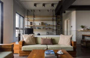 客厅书房现代简约书房装修